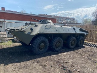 BTR-70 for installation on a pedestal