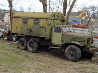 ZIL-157 with storage
