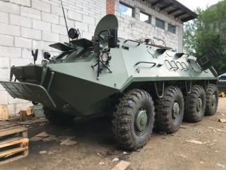 The BTR-60, demilitarized