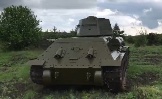 T-34 tank for pedestal, copy