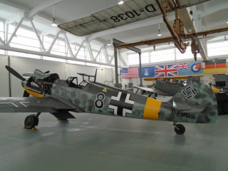 "Messerschmitt BF-109G-6 ""Black 8"", 1944 y."