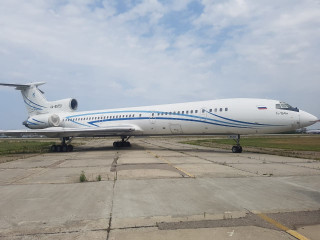 Aircraft Tu-154, decommissioned