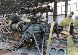 Spare parts for the Mi-8 helicopter